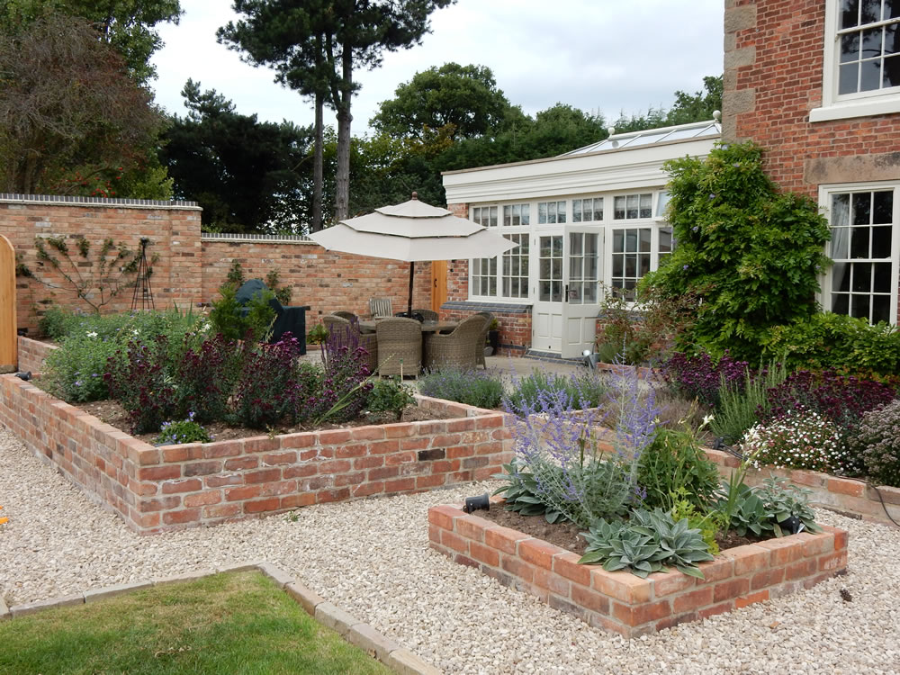 georgian house garden design garden designer derbyshire