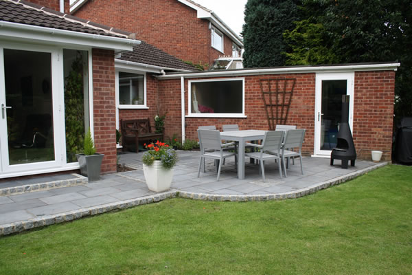 A garden design in Barton Under Needwood