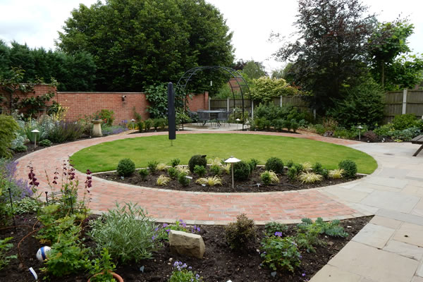 A garden design in Duffield