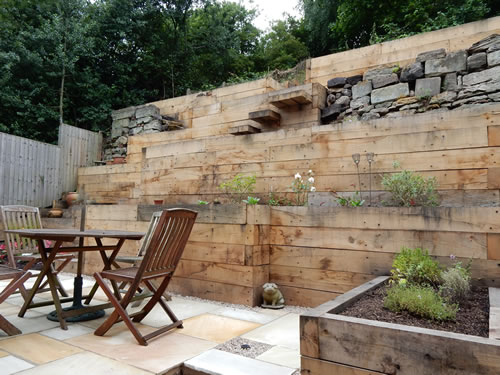 Wooden Deck Ideas Raised