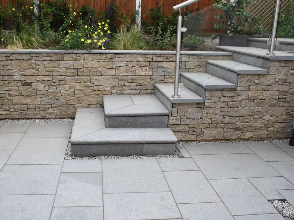 Sunken garden designer garden design burton for Garden design portfolio